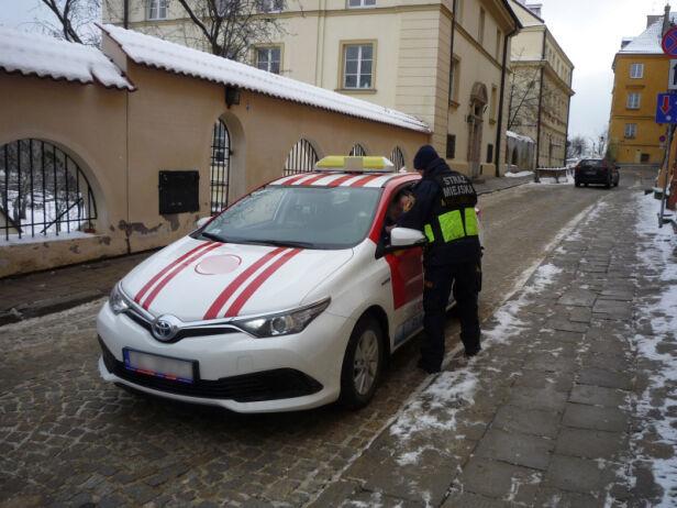 Kontrole służb straż miejska