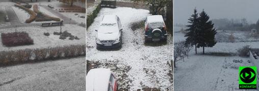 Warmia i Mazury przysypane śniegiem. Pokazaliście to na Waszych zdjęciach