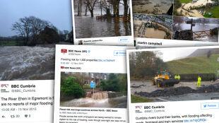 """Północna Anglia pod wodą. """"Bądźcie gotowi do podejmowania natychmiastowych działań"""""""