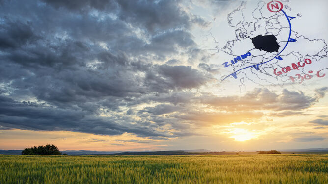 Słońce dla nielicznych. W ostatni weekend lata szykujmy się na chłód i deszcz