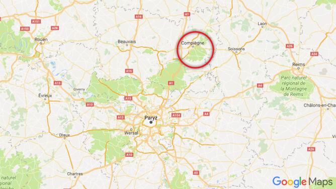 Do tragedii doszło w Lesie Compiegne w Pikardii