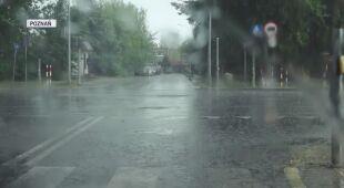 Ulewa w Poznaniu