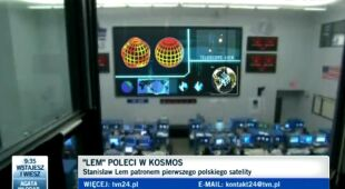 Lem niedługo poleci w kosmos, rozmowa z Karolem Wójcickim z CNK (TVN24)